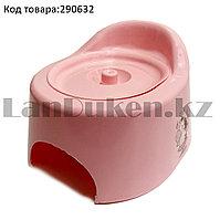 Горшок детский с крышкой 11800 (003) розовый