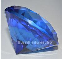 Сувенир кристалл из камня ярко-синий 40 гр