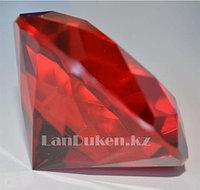 Сувенир кристалл из камня красный 40 гр