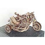 «Мотоцикл Scrambler UGR-10 с коляской» 380 деталей, фото 3