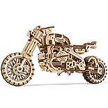 «Мотоцикл Scrambler UGR-10 с коляской» 380 деталей, фото 4