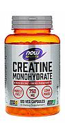 Креатин ( моногидрат). Creatine monohydrate. 750 мг. 120 капсул. Now foods