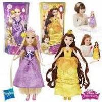 Модная кукла с длинными волосами и аксесс. (в ассорт.)