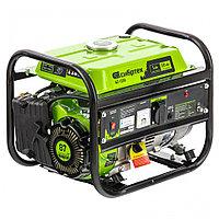 Генератор бензиновый БС-1200, 1 кВт, 230 В, 4-х такт., 5,5 л, ручной стартер, Сибртех