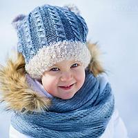 Зимние шапки, комплекты для де...