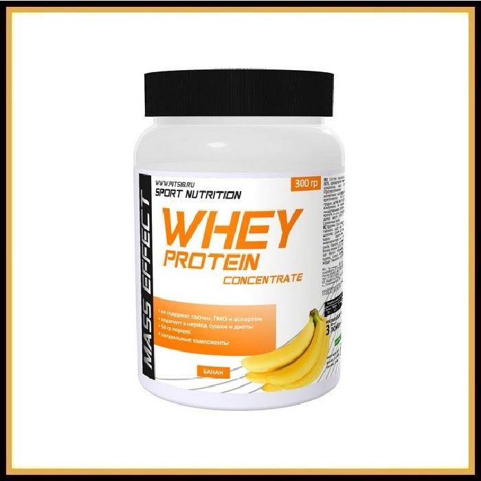 MASS EFFECT Whey protein 300гр (банан)