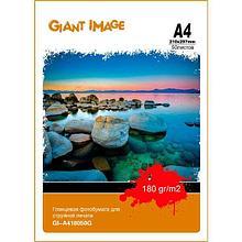 GIANT IMAGE GI-A418050G Фотобумага А4 50 Л. 180 Г/М2 глянц.