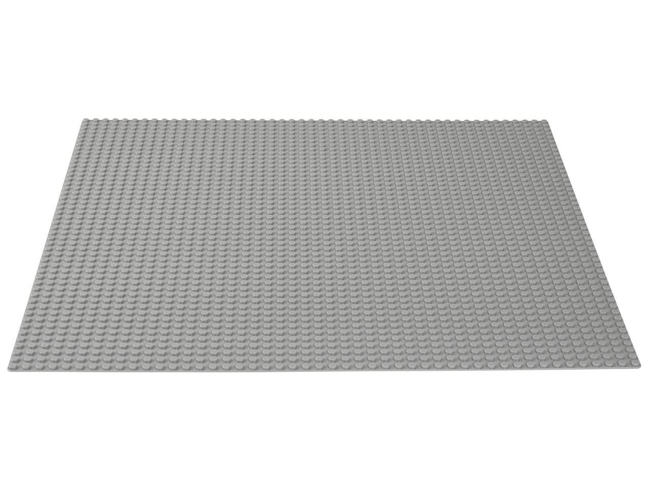 LEGO возраст 4+ : Строительная пластина серого цвета Classic 10701 - фото 2