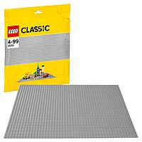 LEGO возраст 4+ : Строительная пластина серого цвета Classic 10701