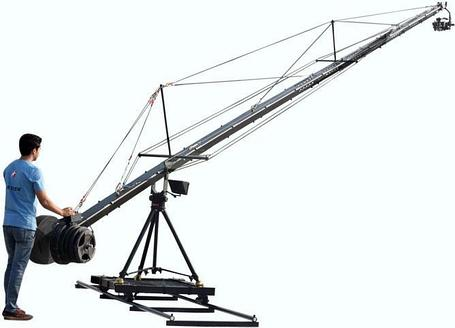 Proaim 40ft NILE Camera Crane Package, фото 2
