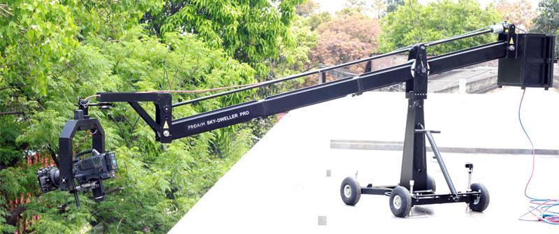 Proaim Sky-Dweller Pro 16ft Camera Crane - Seat Platform & Euro Mountе