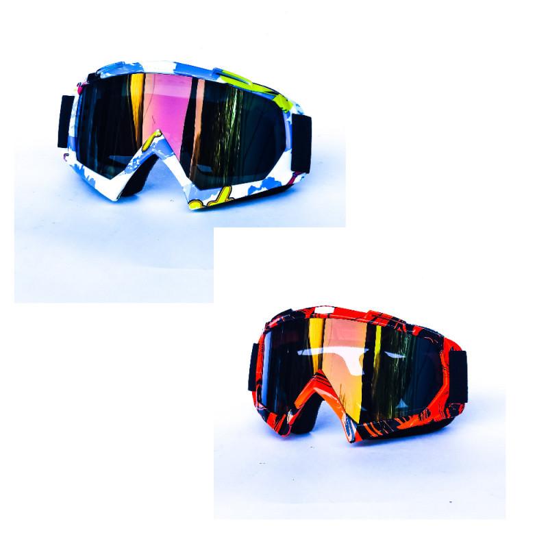 Кроссовые очки для мотоцикла и т.д