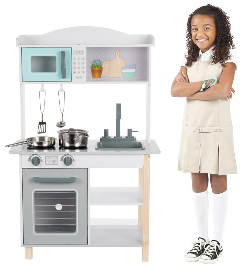 Edufun Детская Игровая Кухня с аксессуарами 59.5*30*93.5
