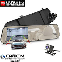Видеорегистратор Зеркало Element-5 T86S с 2 Камерами / ОРИГИНАЛ
