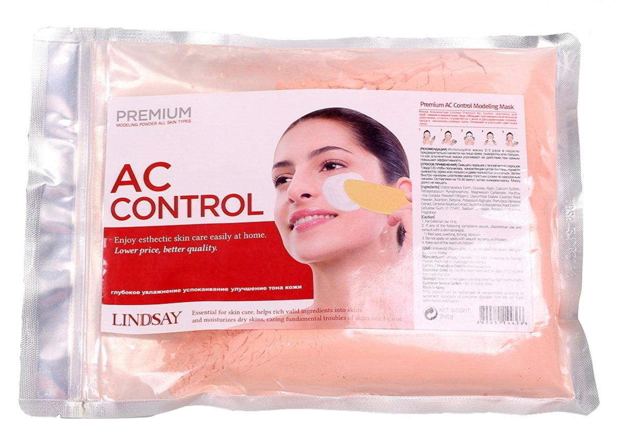 Маска альгинатная для проблемной кожи LINDSAY PREMIUM AC CONTROL MODELING MASK PACK