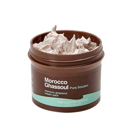 Маска-крем c глиной Too Cool For School Morocco Ghassoul Cream Pack