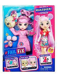 FailFix / Фейл Фикс Игровой набор кукла 2в1 Кавай КьютиTM FAIL FIX