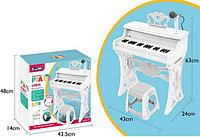 Интерактивное пианино с микрофоном и стульчиком 37 клавиш