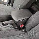 Подлокотник (Бар Люкс) Hyundai Accent/Solaris (2017-) устанавливается в подстаканник, фото 2