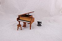 Рояль музыкальная шкатулка (Дерево)
