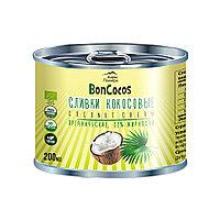 Дары Памира. Сливки кокосовые органические, BONCOCOS, 200мл, ж/б
