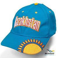 Бейсболка с 3D-вышевкой Patriot KZ BERKUT Sportware (Солнце Казахстана на бирюзовом)