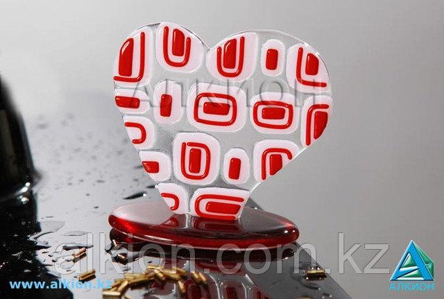 """Сувенир из стекла """"Сердечко"""""""