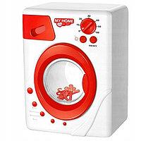 Детская стиральная машинка на батарейках модель: NO.3216. С вращающимся барабаном световыми и звуковыми эффект