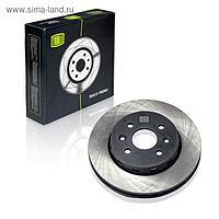 Диск тормозной передний для автомобилей Kia Spectra (00-) OK2N233251, TRIALLI DF 073104