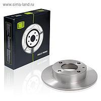 Диск тормозной передний для автомобилей ВАЗ 1111 (под 4 болта) 1111-3501070-10, TRIALLI DF 109