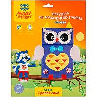 Игрушка из бумажного пакета «Кот»