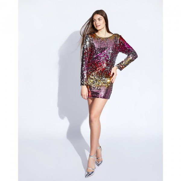 Платье женское MINAKU, цвет мульти, размер 44-46