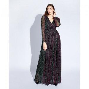 """Платье женское MINAKU """"Isabel"""", длинное, размер 48, цвет мульти"""