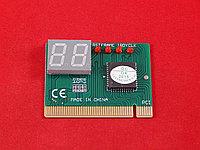 POST карта для материнских плат (двух знаковая, PCI/ISA, 1 чип)