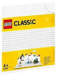 LEGO: Белая базовая пластина Classic 11010