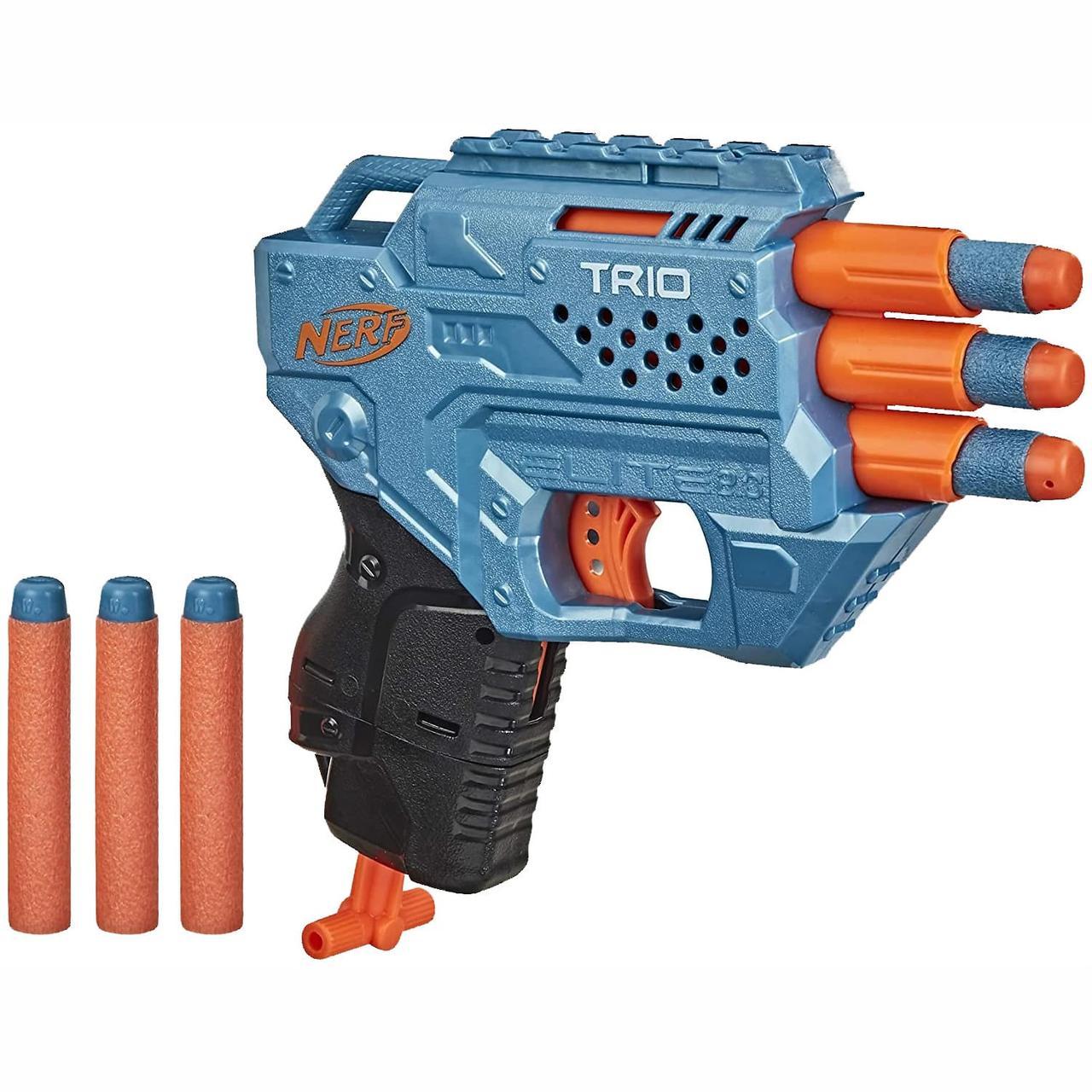 Hasbro Nerf N-Strike Elite 2,0 Пистолет Бластер Нёрф Трио (Trio TD-3)