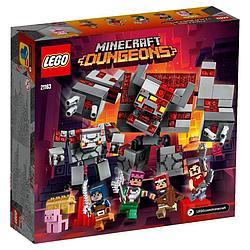 LEGO: Битва за красную пыль Minecraft 21163