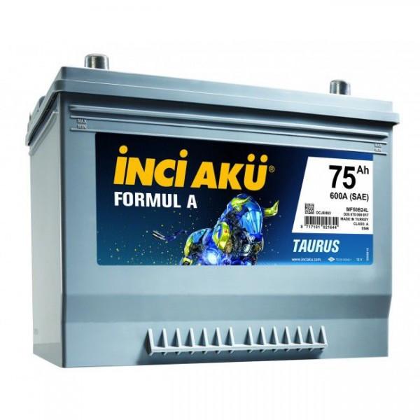 Аккумулятор для автомобиля Inci Aku 75 Ah D26 075 060 017