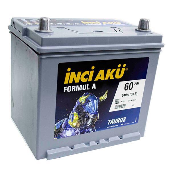 Аккумулятор для автомобиля Inci Aku 60 Ah D23 060 054 010