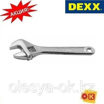 Ключ разводной, 150 мм. DEXX. 27252-15