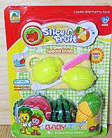 Упаковка помята!!! YK50567-1 Овощи нарезка Slice Fruit 28*21см