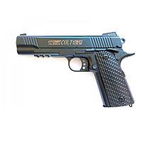Страйкбольный пневматический пистолет стреляет пульками 6 мм Airsoft Gun C.10