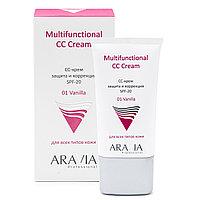 СС-Крем ARAVIA защитный SPF-20 Multifunctional CC Cream 01 Vanilla 50 мл №95342