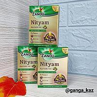 Нитьям Занду Nityam Zandu - натуральное слабительное, без спазм и коликов, на основе касторки, 10 шт