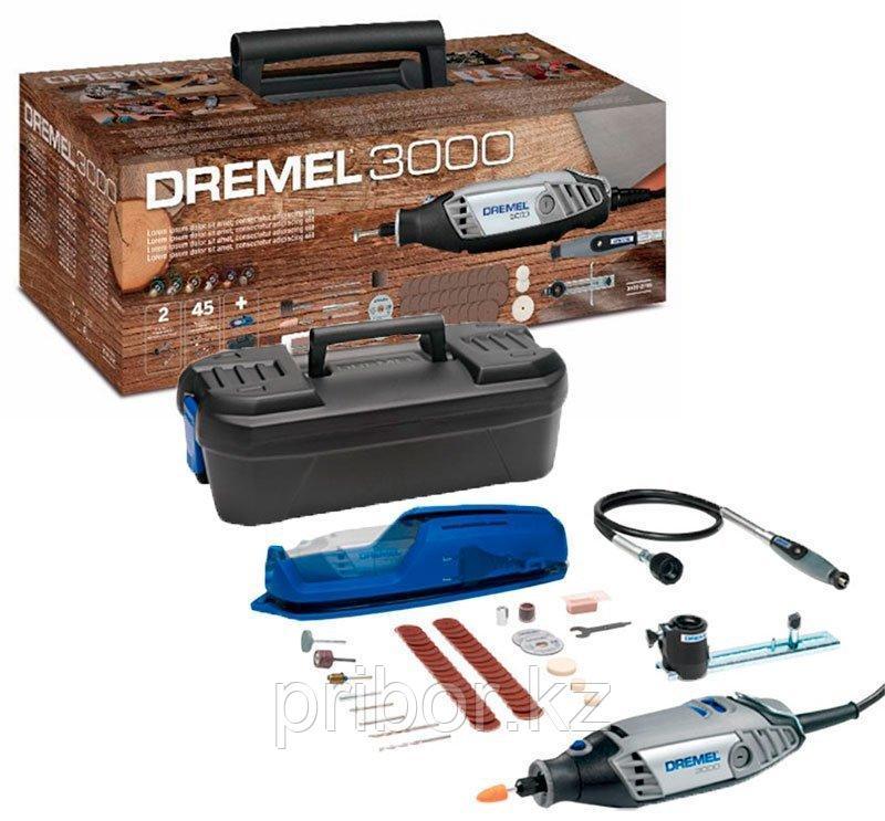 Многофункциональный инструмент DREMEL 3000-2/45 XMAS в комплекте с насадками