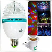 Лампа-диско (+цоколь с переключателем)