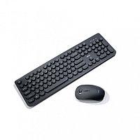 Беспроводная клавиатура с мышкой Remax MK601 Original Jinyin Series Wireless (Black), фото 1