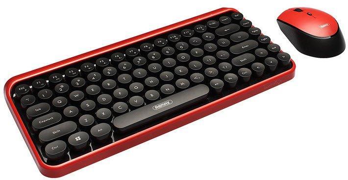 Беспроводная клавиатура с мышкой Remax Xii Zone XII-MK801 (Black-Red)
