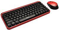 Беспроводная клавиатура с мышкой Remax Xii Zone XII-MK801 (Black-Red), фото 1