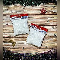 Снег сыпучий в пакете